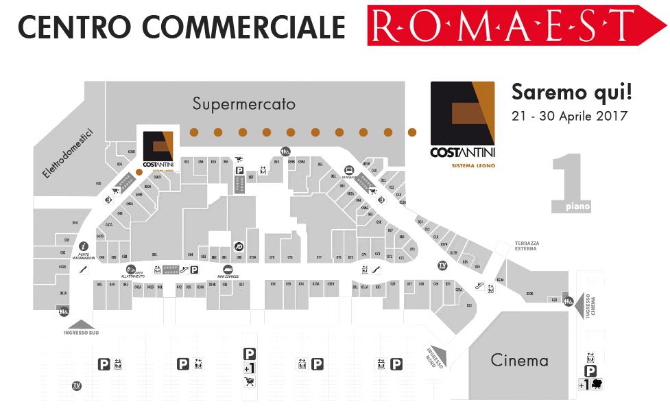 Centro commerciale roma est costantini legno for Centro convenienza arredi roma est