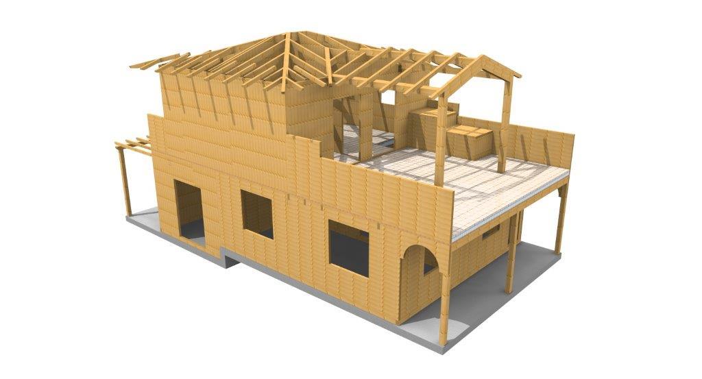 casa in legno verona 3d_1