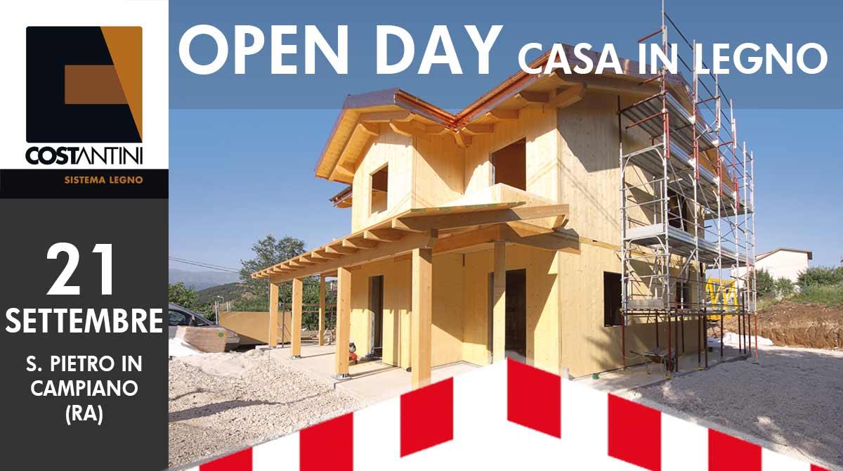 Casa Di Legno Costi s. pietro in campiano (ra) – open day cantiere casa in legno